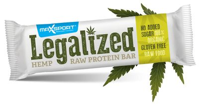 MaxSport Legalized Hemp Raw Bar