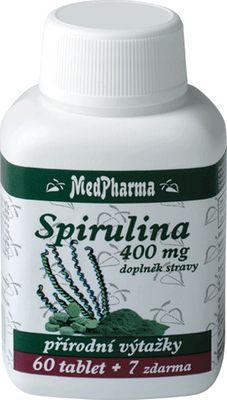 MedPharma Spirulina 400mg