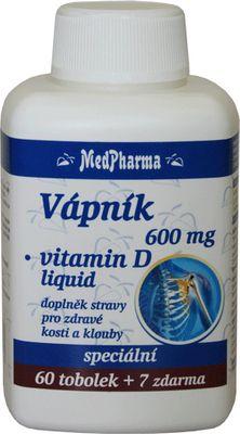 MedPharma Vápník 600mg