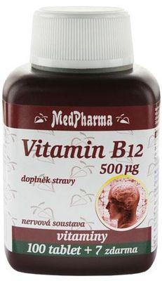 MedPharma Vitamin B12 500 µg