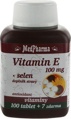 MedPharma Vitamín E 100 mg + Selen