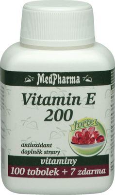 MedPharma Vitamín E 200mg Forte