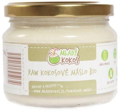 Mladý Kokos Kokosové máslo Raw BIO