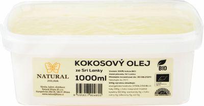 Natural Jihlava Kokosový olej BIO