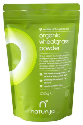 Naturya Superfoods Organic Wheatgrass Powder