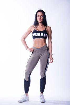 Nebbia dámské legíny High Waist Mesh 601