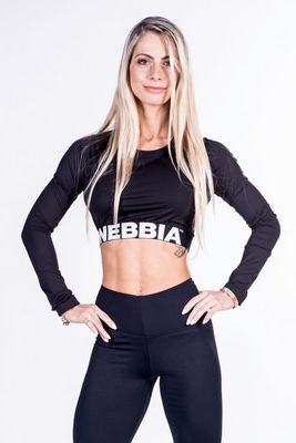 Nebbia dámské triko Crop Top 269