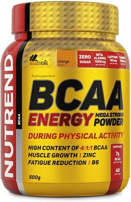 Nutrend BCAA Energy Mega Strong Powder