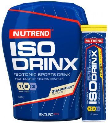 Nutrend IsoDrinX + IsoDrinX Tabs