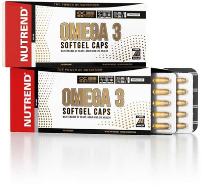 Nutrend Omega 3 Softgel Caps