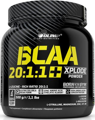 Olimp Sport Nutrition BCAA 20:1:1 + Xplode Powder