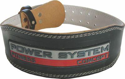 Power System Fitness opasek POWER BLACK