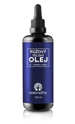 Renovality Růžový tělový olej
