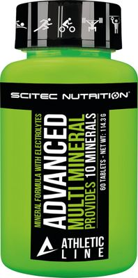 SciTec Nutrition Athletic Line Advanced Multi Mineral
