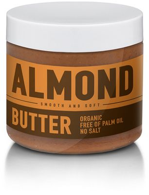 SizeAndSymmetry Nutrition Almond Butter smooth