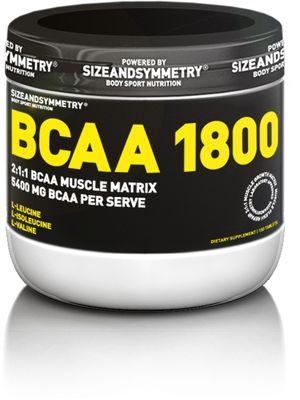 SizeAndSymmetry Nutrition BCAA 1800