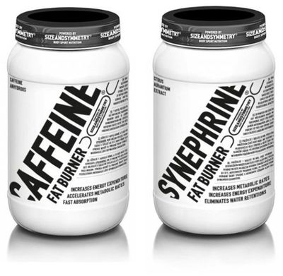 SizeAndSymmetry Nutrition Caffeine 60 kapslí + Synephrine 100 kapslí