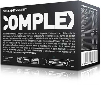 SizeAndSymmetry Nutrition Complex