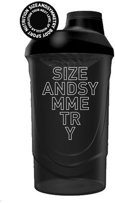 SizeAndSymmetry Nutrition Shaker