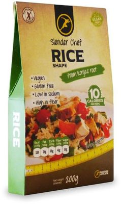Slender Chef Rice shape