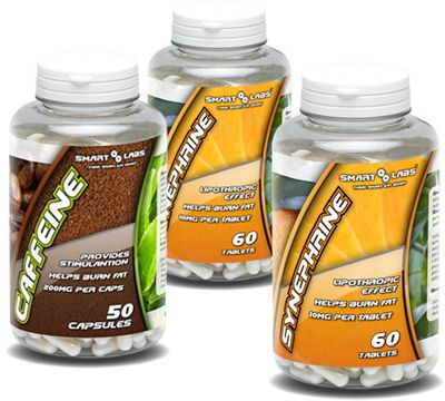 Smartlabs Synephrine 2 x 60 tablet + Caffeine 50 kapslí