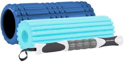 Spokey Mix Roll fitness masážní válec 3v1