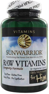 Sunwarrior Raw Vitamins for Him