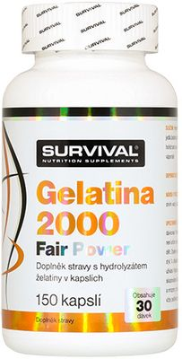 Survival Gelatina 2000 Fair Power
