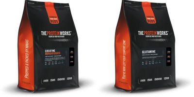 TPW Creatine Monohydrate 500 g + Glutamine 500 g