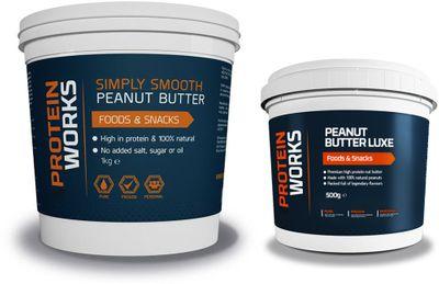 TPW Peanut butter 1000 g + Peanut butter luxe 500 g