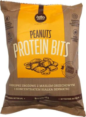 Trec Nutrition Better choice Peanuts Protein Bits