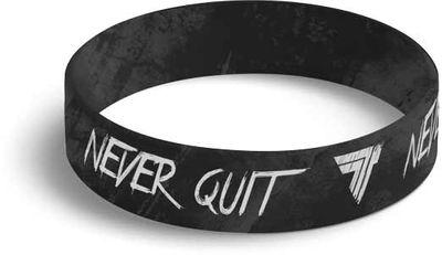 TrecWear silikonový náramek Never Quit 050