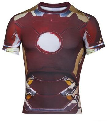 Under Armour Pánské tričko Alter Ego Iron Man
