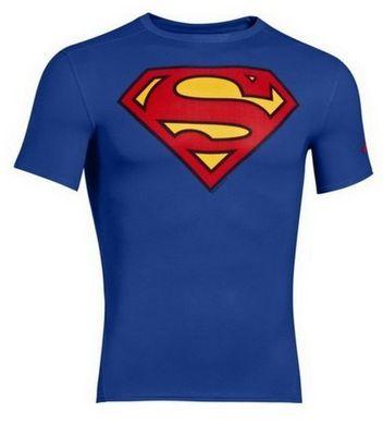 Under Armour Pánské tričko Alter Ego DC Comics fitted Superman