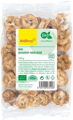 Wolfberry Banány krájené BIO