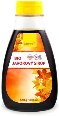 Wolfberry BIO Javorový sirup
