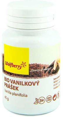 Wolfberry BIO Vanilkový prášek