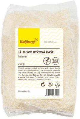 Wolfberry Jáhlovo-Rýžová kaše