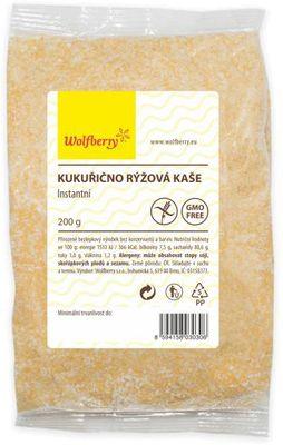 Wolfberry Kukuřično-rýžová kaše
