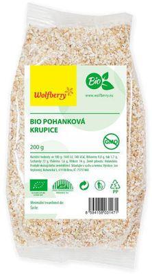 Wolfberry Pohanková krupice BIO
