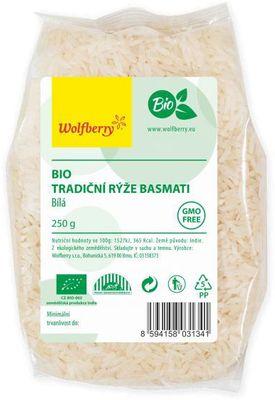 Wolfberry Rýže basmati bílá BIO
