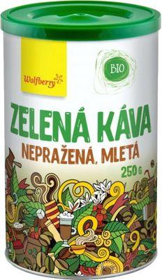 Wolfberry Zelená káva nepražená