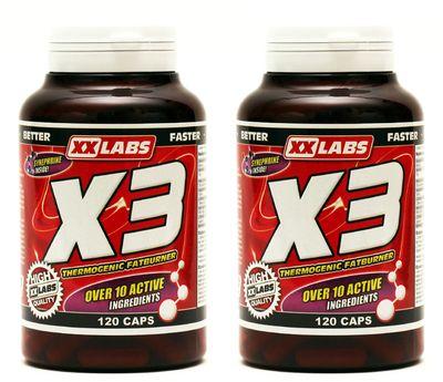 XXLabs X3 Thermogenic Fatburner