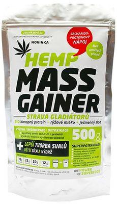 Zelená Země Hemp Mass Gainer