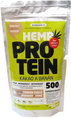 Zelená Země RAW Hemp Protein
