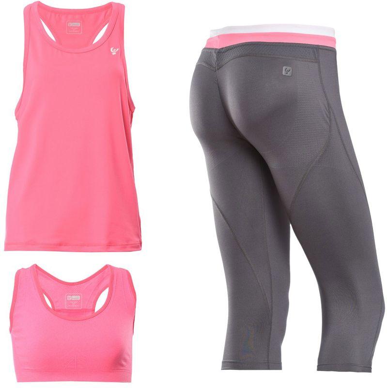 5faa93883aa Freddy WR.UP® 3 4 sportovní kalhoty D.I.W.O. + tílko + podprsenka ...