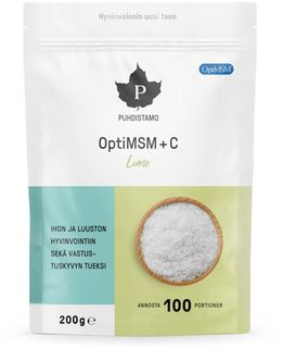 Puhdistamo OptiMSM + C