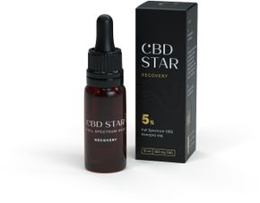 CBD STAR CBG Full spectrum 5% Recovery