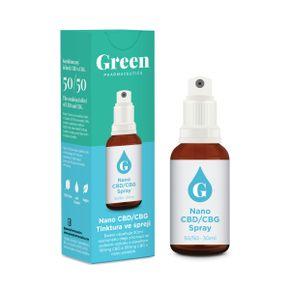 Green Pharmaceutics Nano CBD/CBG tinktura sprej
