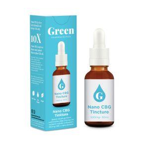 Green Pharmaceutics Nano CBG tinktura
